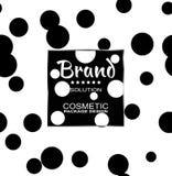 Für das kosmetische Produktverpacken Stilvolle grafische Beschaffenheit der nahtlosen Muster für Ihr Design Vektor Abbildung