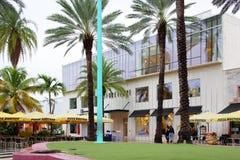 Für immer 21 und Pizza Rustica Lincoln Road Miami Beach Lizenzfreie Stockbilder