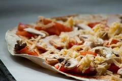 Für Pizzaliebhaber Lizenzfreies Stockfoto