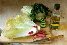 Für Salat Lizenzfreie Stockbilder