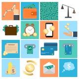 Für Sie Entwurf Sammlung des Geschäfts, Geld Lizenzfreies Stockfoto
