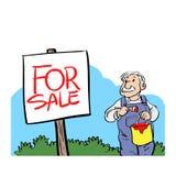 Für Verkauf Stockfoto