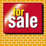 Für Verkauf Lizenzfreies Stockbild