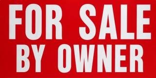 Für Verkauf durch Owner Lizenzfreie Stockfotos