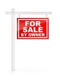 Für Verkauf durch Owner Stockbild