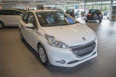 Für Verkauf Peugeot 208 Stockfotografie