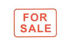 Für Verkaufs-Stempel Stockfotografie