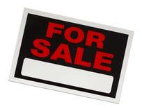Für Verkaufs-Zeichen Stockfotografie