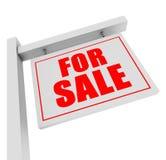Für Verkaufsfahne Lizenzfreies Stockfoto