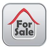 Für Verkaufszeichen Stockbild