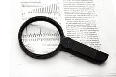 Für vorsichtige Forschung Stockfoto