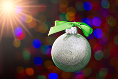 Für Weihnachtsdekorationen Stockbild