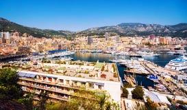 Fürstentum Monaco-Hafen Stockfotos