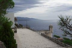 Fürstentum Monako. Monte Carlo Lizenzfreies Stockfoto