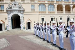 Fürstentum von Monaco Stockfoto