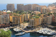 Fürstentum von Monaco Lizenzfreie Stockfotos