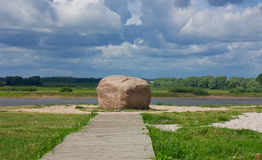 Fürstlicher Stein Russland Stockbild