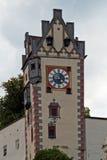 Füssen, torre di alto castello Immagine Stock