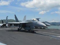 18 f喷气式歼击机 免版税库存图片