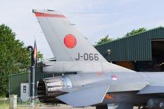 16 f喷气式歼击机 图库摄影