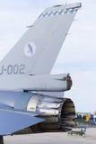 16 f喷气式歼击机 库存照片