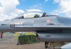 16 f战斗机 免版税库存照片