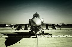 16 f猎鹰战斗 免版税图库摄影