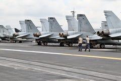F18 έξοχο Hornets Στοκ εικόνες με δικαίωμα ελεύθερης χρήσης