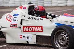 F1 αγωνιστικό αυτοκίνητο στη Σρι Λάνκα Στοκ Φωτογραφία