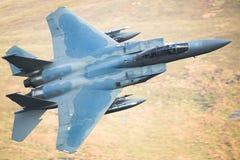 F15 αεριωθούμενο αεροπλάνο αετών Στοκ Φωτογραφίες