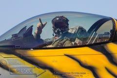 F-16 πειραματικό Στοκ Εικόνες
