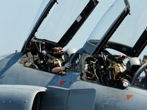 F4 πιλοτήριο στοκ εικόνες