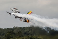F16 бельгийца на RIAT Стоковое Изображение