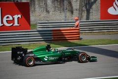 2014 F1 Монца Caterham CT05 - Kamui Kobayashi стоковое фото