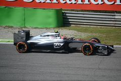 2014 F1 Монца McLaren MP4-29 - Кевин Magnussen стоковая фотография