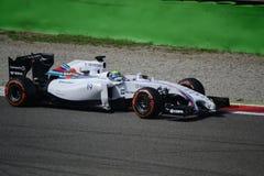 2014 F1 Монца Williams FW36 - Felipe Massa Стоковое Изображение RF