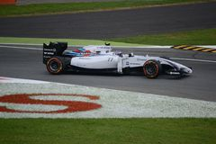 2014 F1 Монца Williams FW36 - Valtteri Bottas стоковое фото