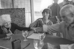 F. Тимоти Leary и Лаура Huxley стоковое фото rf