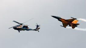 F-16亚帕基 免版税库存照片