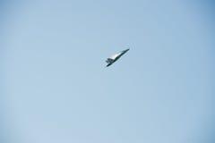 F-16喷气式歼击机 库存图片