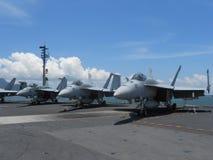 F-18喷气式歼击机 库存照片