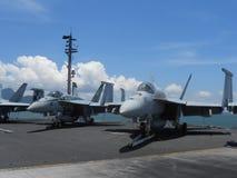 F-18喷气式歼击机 免版税库存照片