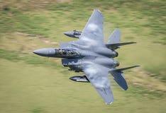 F15喷气式歼击机 库存图片