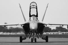 F-18大黄蜂 库存照片