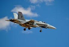 F/A-18大黄蜂 库存图片