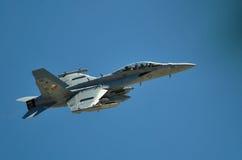 F/A-18大黄蜂 免版税库存照片