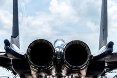 F-15尾气 库存图片