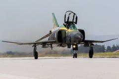 F4幽灵喷气式歼击机 免版税库存图片