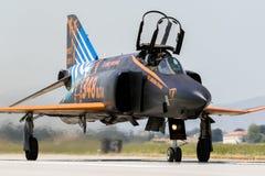 F4幽灵喷气式歼击机 库存图片
