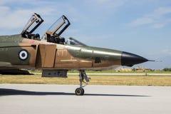 F4幽灵喷气式歼击机 库存照片